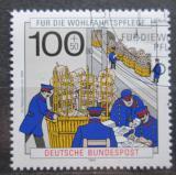 Poštovní známka Německo 1990 Historie pošty Mi# 1476