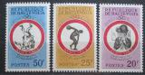 Poštovní známky Horní Volta 1963 Sportovní hry Mi# 117-19