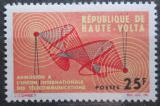 Poštovní známka Horní Volta 1964 Přijetí do ITU Mi# 142