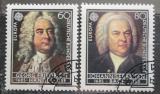 Poštovní známky Německo 1985 Evropa CEPT, skladatelé Mi# 1248-49