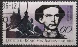 Poštovní známka Německo 1986 Král Ludvík II. Mi# 1281
