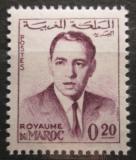 Poštovní známka Maroko 1962 Král Hassan II. Mi# 494
