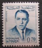 Poštovní známka Maroko 1962 Král Hassan II. Mi# 501