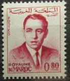 Poštovní známka Maroko 1962 Král Hassan II. Mi# 502