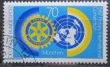 Poštovní známka Německo 1987 Rotary International Mi# 1327