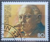 Poštovní známka Německo 1987 Ludwig Erhard, ekonom Mi# 1308
