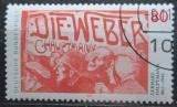 Poštovní známka Německo 1987 Gerhart Hauptmann Mi# 1344