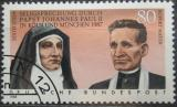 Poštovní známka Německo 1988 Svatořečení Mi# 1352
