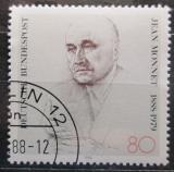 Poštovní známka Německo 1988 Jean Monnet, ekonom a politik Mi# 1372