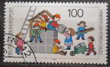 Poštovní známka Německo 1989 Dětská sociální péče Mi# 1435