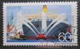 Poštovní známka Německo 1989 Přístav Hamburg Mi# 1419