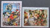 Poštovní známky Čad 1970 Umění, Iba N Diaye Mi# 321-22 Kat 10€