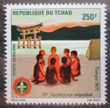 Poštovní známka Čad 1971 Skauti Mi# 394 Kat 5.50€