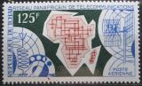 Poštovní známka Čad 1971 Africká telefonní síť Mi# 386