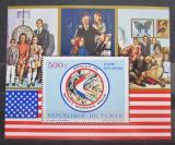 Poštovní známka Čad 1972 Apollo 15 Mi# Block 30