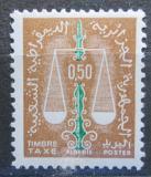 Poštovní známka Alžírsko 1963 Váhy, doplatní Mi# 62