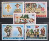 Poštovní známky Čad 1972 Skauti Mi# 528-32