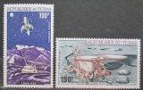 Poštovní známky Čad 1972 Měsíční vozidla Mi# 598-99