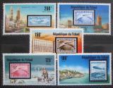 Poštovní známky Čad 1977 Vzducholodě Mi# 775-79 Kat 12€