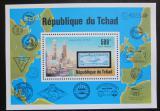 Poštovní známka Čad 1977 Vzducholodě Mi# Block 68