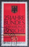 Poštovní známka Německo 1976 Státní znak Mi# 879