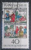 Poštovní známka Německo 1976 Ilustrace, Hans Sachs Mi# 877