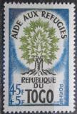 Poštovní známka Togo 1960 Rok uprchlíků Mi# 284