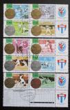 Poštovní známky Kuba 1996 LOH Atlanta Mi# 3966-75 Kat 12€