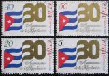 Poštovní známky Kuba 1989 Výročí revoluce Mi# 3253-56