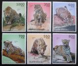 Poštovní známky Guinea-Bissau 2010 Jaguár americký Mi# 5105-10 Kat 16€