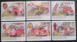 Poštovní známky Mosambik 2009 Hasičská auta Mi# 3160-65 Kat 10€