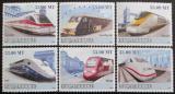 Poštovní známky Mosambik 2009 Moderní lokomotivy Mi# 3198-3203 Kat 10€