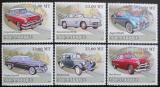 Poštovní známky Mosambik 2009 Historické automobily Mi# 3137-42 Kat 10€