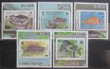Poštovní známky Svatý Tomáš 2010 Fauna WWF na známkách Mi# 4637-41 Kat 12€