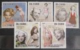 Poštovní známky Svatý Tomáš 2009 Marilyn Monroe Mi# 4216-20
