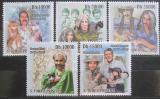 Poštovní známky Svatý Tomáš 2009 Kočky a jejich slavní majitelé Mi# 4248-53