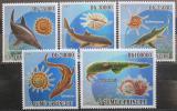 Poštovní známky Svatý Tomáš 2009 Pravěká fauna Mi# 4083-87 Kat 12€