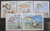 Poštovní známky Svatý Tomáš 2009 Rybolov Mi# 4043-47 Kat 10€