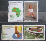 Poštovní známka Tanzánie 2006 MS ve fotbale Mi# 4342-45