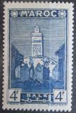Poštovní známka Francouzské Maroko 1942 Mešita Salé Mi# 170