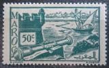 Poštovní známka Francouzské Maroko 1945 Pevnost Oudaia Mi# 217
