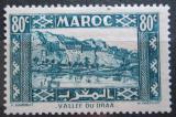 Poštovní známka Francouzské Maroko 1940 Údolí Draa Mi# 155