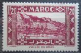 Poštovní známka Francouzské Maroko 1942 Údolí Draa Mi# 159