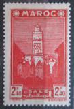 Poštovní známka Francouzské Maroko 1942 Mešita Salé Mi# 166