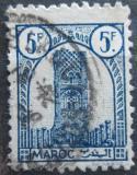 Poštovní známka Francouzské Maroko 1943 Hassanova věž Mi# 203
