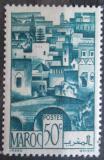 Poštovní známka Francouzské Maroko 1947 Maurské město Mi# 245