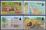 Poštovní známky Fidži 1973 Národní program rozvoje Mi# 306-09