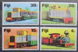 Poštovní známky Fidži 1976 Lokomotivy Mi# 348-51