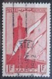 Poštovní známka Francouzské Maroko 1939 Minaret, Chella Mi# 177 a