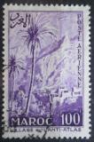 Poštovní známka Francouzské Maroko 1955 Vesnice v horách Mi# 405